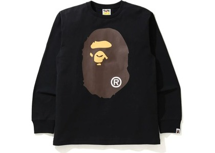 Bape Big Ape Head L/S Tee Tee Black (SS21)の写真