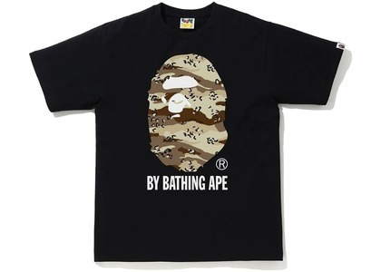 Bape Desert Camo by Bathing Ape Relaxed Tee Black/Beige (SS21)の写真