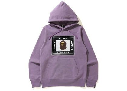 Bape Super Busy Works Pullover Hoodie Purple (SS21)の写真