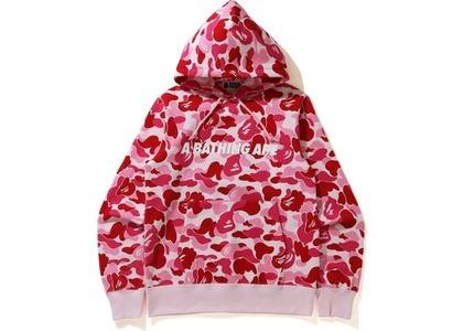 Bape ABC Camo Pullover Hoodie Pink (SS21)の写真