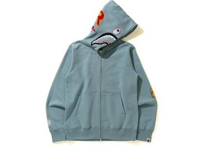 Bape Shark Full Zip Hoodie (SS21) Gray (SS21)の写真