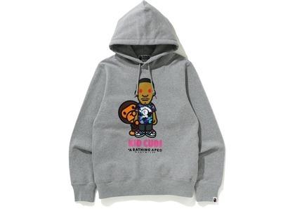 Bape x Kid Cudi Baby Milo Pullover Hoodie Gray (SS21)の写真