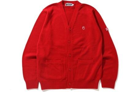 Bape x Kid Cudi Cardigan Red (SS21)の写真