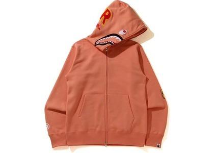 Bape Shark Full Zip Hoodie Orange (SS21)の写真