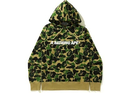 Bape ABC Camo Pullover Hoodie (SS21) Green (SS21)の写真