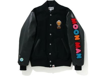 Bape x Kid Cudi Varsity Jacket Black (SS21)の写真