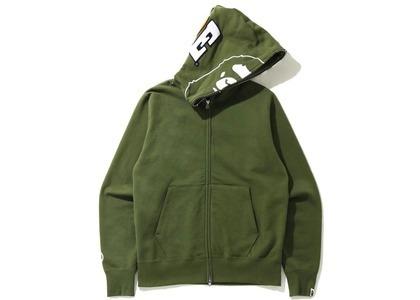 Bape 2nd Ape Full Zip Hoodie Olivedrab (SS21)の写真