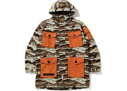 Bape Desert Camo Loose Fit Military Jacket Beige (SS21)の写真