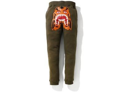 Bape Tiger Slim Sweat Pants Olivedrab (SS21)の写真