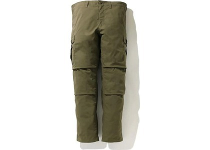 Bape Relaxed 6 Pocket Pants Olivedrab (SS21)の写真