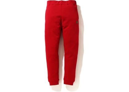Bape x Kid Cudi Slim Sweatpants Red (SS21)の写真