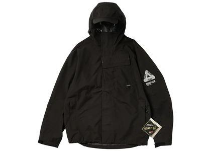 Palace GORE-TEX P Cap Jacket Black (SS21)の写真