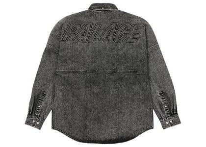 Palace Denim Bossy Shirt Washed Black (SS21)の写真