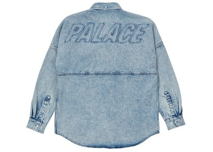 Palace Denim Bossy Shirt Washed Blue (SS21)の写真