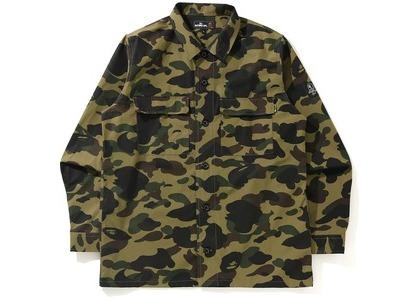 BAPE 1st Camo Military Shirt Green (SS21)の写真