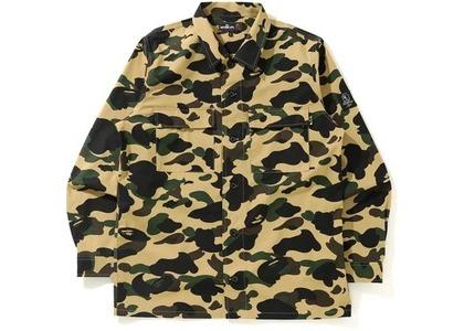BAPE 1st Camo Military Shirt Yellow (SS21)の写真