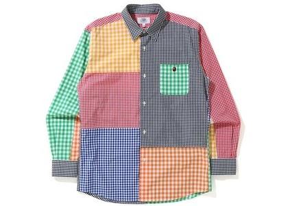 BAPE Gingham Check Multi Pattern Shirt Multi (SS21)の写真