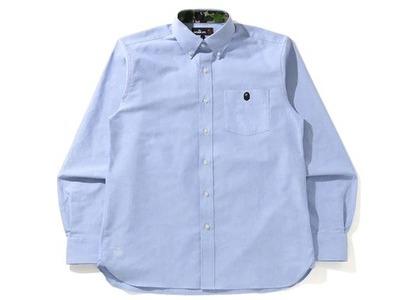 BAPE Oxford BD Shirt Blue (SS21)の写真