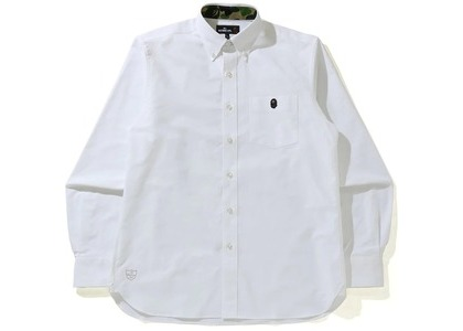 BAPE Oxford BD Shirt White (SS21)の写真