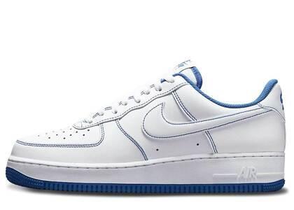 Nike Air Force 1 07 Low White Game Royalの写真