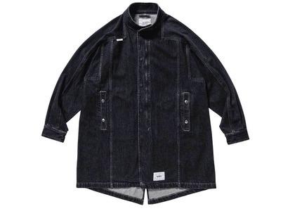 Wtaps Tompson Jacket Cotton Denim Blackの写真