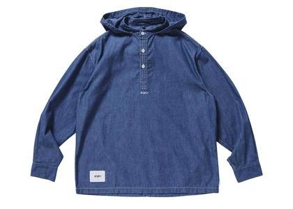 Wtaps Falconer L/S Cotton Denim Blueの写真