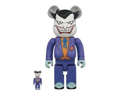 Be@rbrick The Joker Batman The Animated Series Ver 100% & 400%の写真