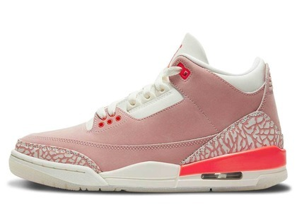 Nike Air Jordan 3 Rust Pink Womens の写真