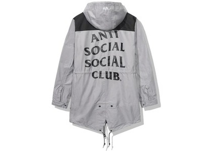 Anti Social Social Club Salmon Alpha Jacket Grey/Black (FW20)の写真