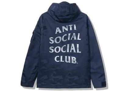 Anti Social Social Club 5th Dimension Alpha Jacket Blue Camo (FW20)の写真