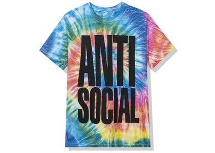 Anti Social Social Club Heatwave Tee Rainbow Tie Dye (FW20)の写真