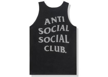 Anti Social Social Club Goodbye Summer Tank Tank Black (FW20)の写真