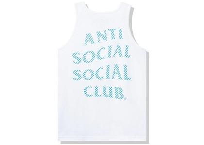 Anti Social Social Club Goodbye Summer Tank Tank White (FW20)の写真