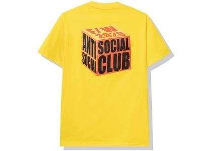 Anti Social Social Club I Wish I Was Wrong Tee Gold (FW20)の写真