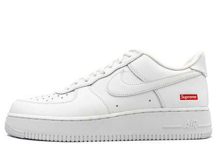 Supreme × Nike Air Force 1 Low White