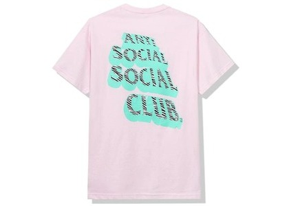 Anti Social Social Club Facade Tee Pink (FW20)の写真