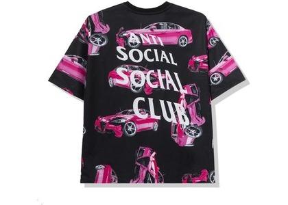 Anti Social Social Club 3AM On Melrose All Over Tee Black/Pink (FW20)の写真