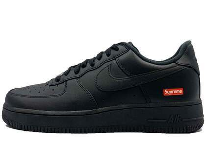 Supreme × Nike Air Force 1 Low Blackの写真
