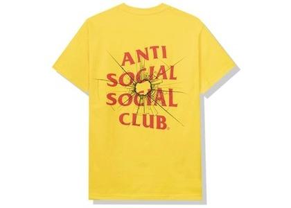Anti Social Social Club Theories Tee Yellow (FW20)の写真