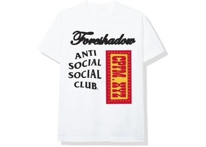 Anti Social Social Club x CPFM Tee White (FW20)の写真