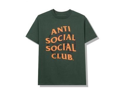 Anti Social Social Club x Neighborhood Cambered Green Tee Tee Green (FW20)の写真