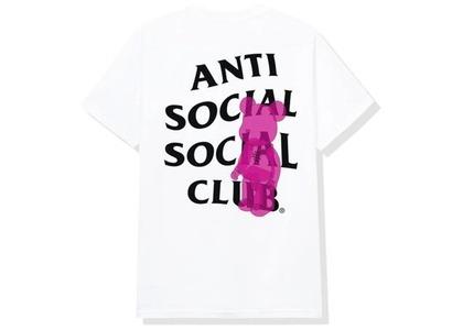 Anti Social Social Club Bearbrick Tee White (FW20)の写真