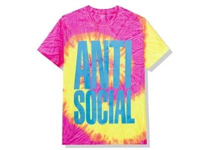 Anti Social Social Club Heatwave Tee Pink Tie Dye (FW20)の写真