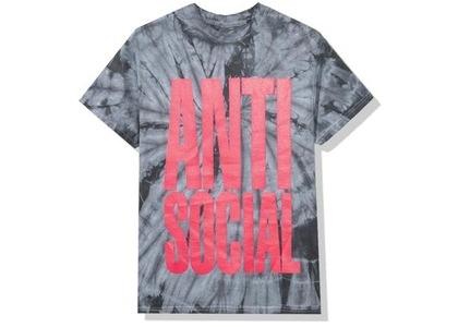 Anti Social Social Club Heatwave Tee Black Tie Dye (FW20)の写真