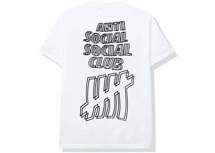 Anti Social Social Club x Undefeated Tee White (FW20)の写真