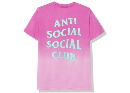 Anti Social Social Club Gone Tee Pink (FW20)の写真