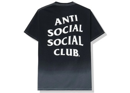 Anti Social Social Club Gone Tee Black (FW20)の写真