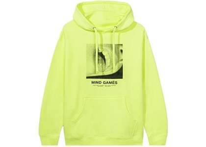 Anti Social Social Club Open Minded Hoodie Neon Green (FW20)の写真