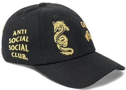 Anti Social Social Club Just My Luck Cap Black/Gold (FW20)の写真