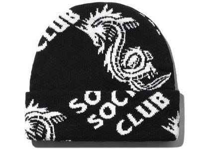 Anti Social Social Club Garden Grove Knit Cap Black (FW20)の写真